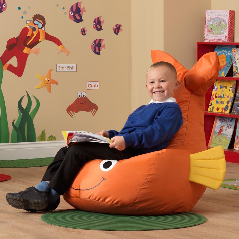 Goldfish Beanbag Welsh Educational Supplies