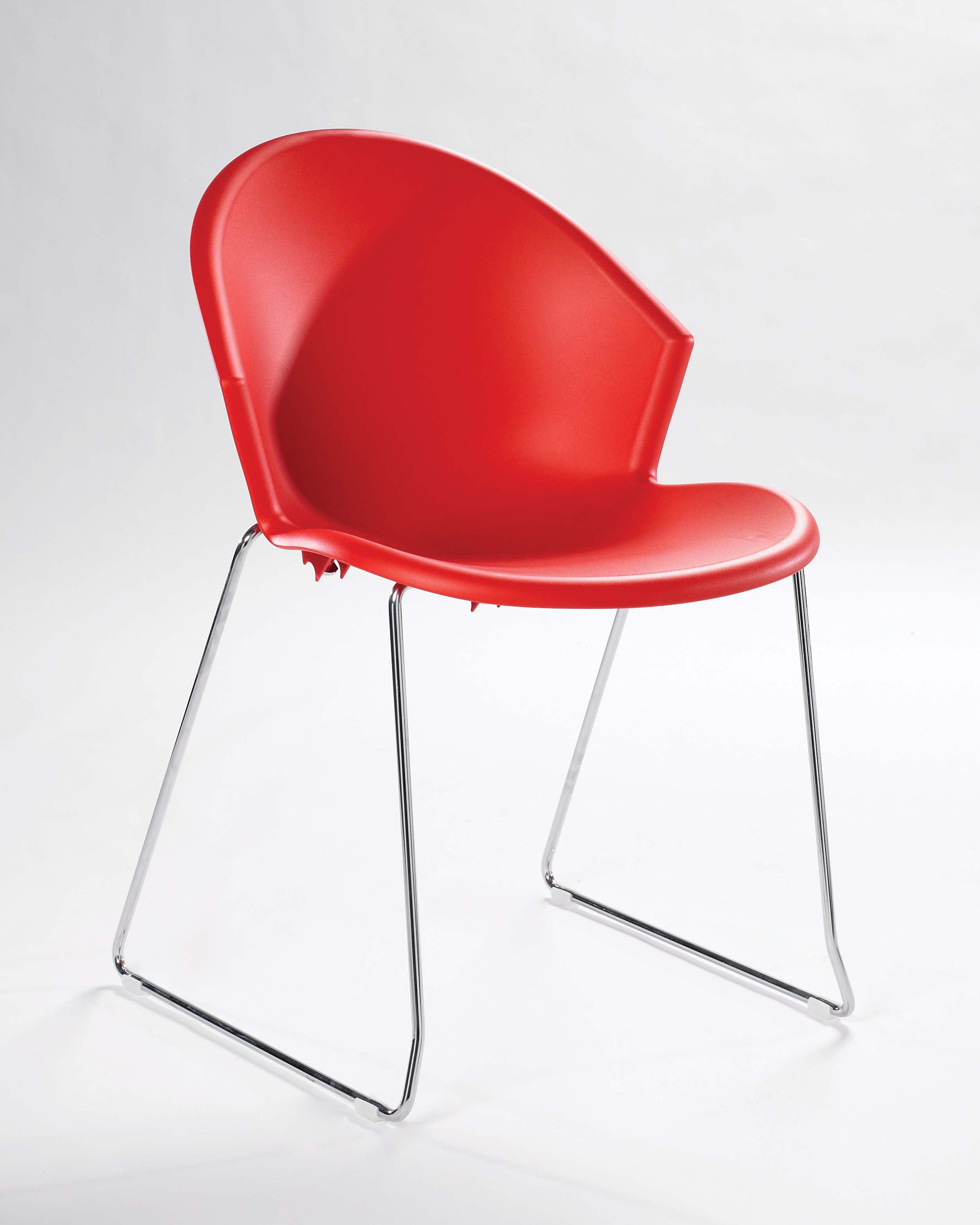 Stunning Ava Skid Base Chair For Dining And Breakout Areas