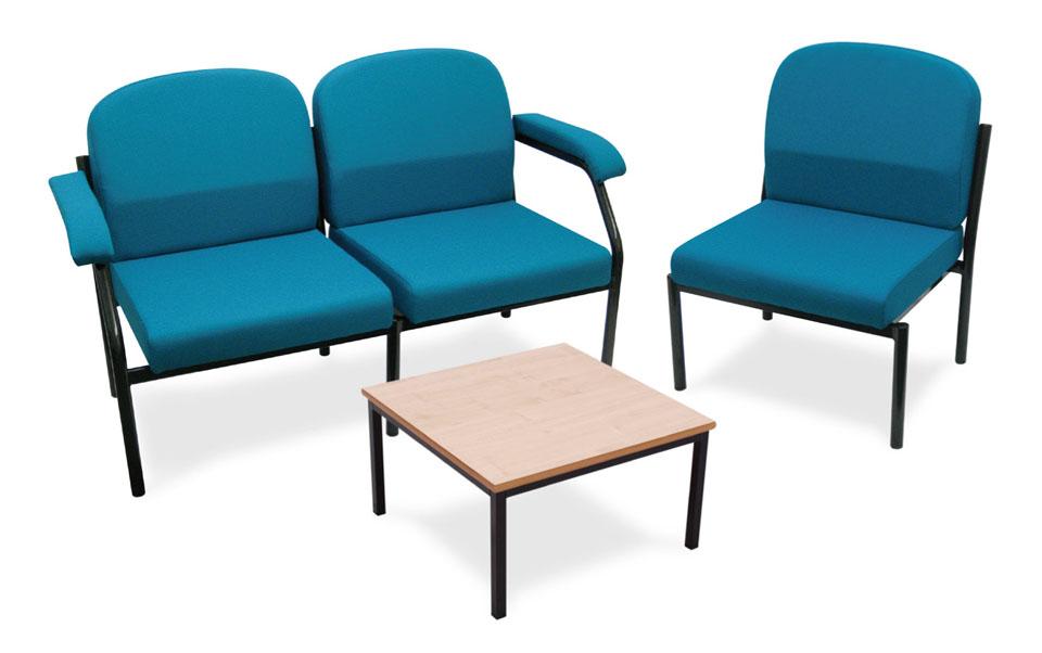 powys heavy duty armchair for schools reception areas
